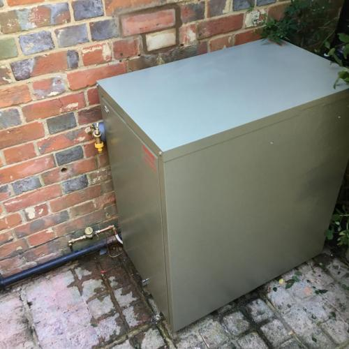 Grant boiler installation