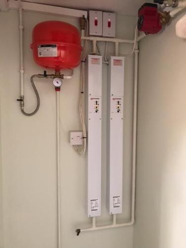 Amptec electric boiler installed